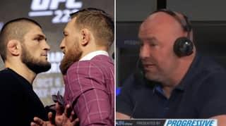 UFC President Dana White Gives Update On Khabib Vs. McGregor Rematch