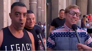 When Nate Diaz Sneaked Up Behind Conor McGregor Fans In Hilarious TV Appearance