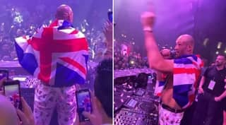 Tyson Fury Hilariously Sings About Deontay Wilder While Partying Following Victory