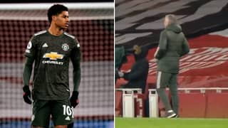 Ole Gunnar Solskjaer Shouted Instructions To Marcus Rashford About Cedric Soares