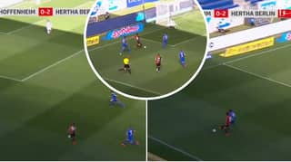 Matheus Cunha Scores Absolutely Outrageous Goal For Hertha Berlin On Bundesliga Return
