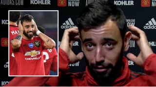 Manchester United Star Bruno Fernandes Explains Meaning Behind His 'Hands Over His Ears' Goal Celebration