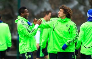 John Obi Mikel Welcomes David Luiz Back To Chelsea With Diego Costa Joke