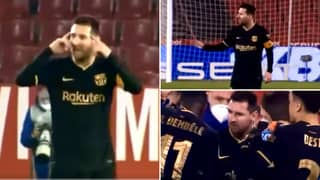 Unseen Footage Of Lionel Messi's Inspirational Performance Vs Granada Proves He's An Incredible Leader