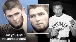 Khabib Nurmagomedov Gives Perfect Response After Being Compared With Muhammad Ali