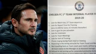 Chelsea's Fine List Under Frank Lampard Shows How Serious Of A Manager He Is