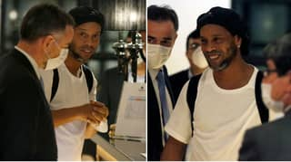 Ronaldinho Makes One Special Request During His House Arrest In Paraguay