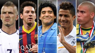 The 40 Greatest Footballers Of All Time Have Been Named And Ranked By Fans