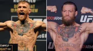 Conor McGregor Looks 'F*****g Massive' After Weighing In At 170lbs For Donald Cerrone Fight