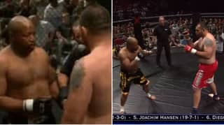 What Happened When A Former Boxing World Champion Fought A Former UFC Champion In An MMA Fight