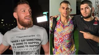 Conor McGregor Responds To Dustin Poirier's Rematch Claim, Immediately Deletes Tweet