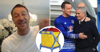 John Terry Tells Hilarious Story Of Jose Mourinho Jumping Out Of Laundry Basket Looking 'A Million Dollars'