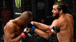 Jorge Masvidal Stuffed A Takedown And Slipped Four Punches... While Laughing And Blowing Kisses