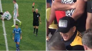 Zenit Midfielder Leandro Paredes Was Supporting Boca Juniors At The La Bombonera