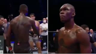 You May Have Missed What Israel Adesanya Did After Beating Paulo Costa At UFC 253