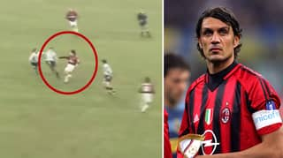 WATCH: The Compilation Of Paolo Maldini's Greatest Tackles Is A Masterclass In Defending