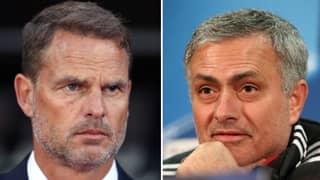 Jose Mourinho Rips Into Former Crystal Palace Boss Frank De Boer