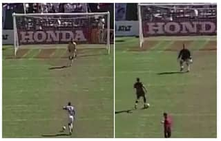 WATCH: This Is How The MLS Took Penalties In The 90's