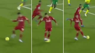 Roberto Firmino Produces Outrageous Pass Vs Norwich City