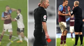 Red Card For West Ham's Tomas Soucek Causes Uproar Among Fans And Pundits