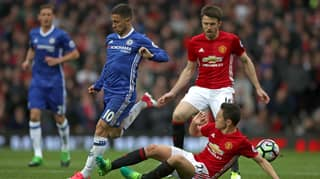 Ander Herrera Reveals What He Told Jose Mourinho Before Man-Marking Eden Hazard