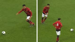 Incredible Compilation Proves That Manchester United Striker Mason Greenwood Has No Weak Foot