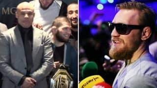 Khabib Nurmagomedov's Manager Ruthlessly Slates Conor McGregor Over MMA Retirement Claim