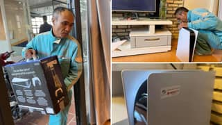 Lad Tricks Family Into Thinking PlayStation 5 Was New Wi-Fi Router