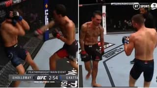Max Holloway Dominates Calvin Kattar, Puts On Striking Clinic At UFC Fight Island 7