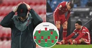 How Injury-Hit Liverpool Could Have To Line Up In Next Premier League Game
