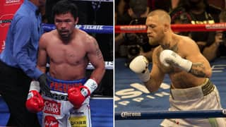 Conor McGregor Teases Boxing Bout With Manny Pacquiao