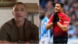 Alexis Sanchez Reveals He Wanted To Return To Arsenal After His First Training Session At Manchester United