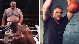 Andy Ruiz Jr Shows Off Remarkable Body Transformation Ahead Of Anthony Joshua Rematch
