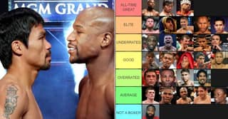 Modern Pound-For-Pound Fighters Ranked From 'GOAT' To 'Not A Boxer'