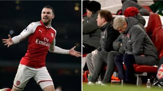 Arsenal Fans Think They Know Why Aaron Ramsey Isn't In The Squad