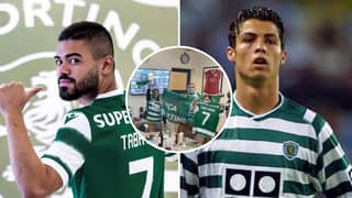 Sporting CP Winger Bruno Tabata Has Hilarious Response To Cristiano Ronaldo's Mother Fuelling Talk Of Emotional Return