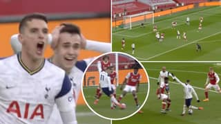 Erik Lamela Scores Outrageous Rabona To Open Scoring For Spurs Against Arsenal