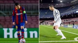 Juventus Finally Get Revenge On Barcelona After Trolling Them With 'Lionel Messi GOAT Tweet'