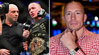UFC Legend Georges St-Pierre Names 'One Of The Best Heavyweight Performances Of All Time'