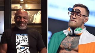 Mike Tyson Says He'd 'Kick Conor McGregor's A**'