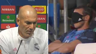 Zinedine Zidane Explains Why Gareth Bale Won't Play Against Manchester City