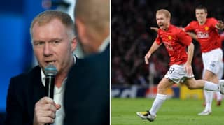 Paul Scholes Described One Of His Former Teammates As A 'Freak'