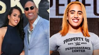 The Rock's Look-Alike Daughter Simone Johnson Has Started WWE Training