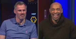 Thierry Henry Savagely Trolls Jamie Carragher With Dig At His Defending