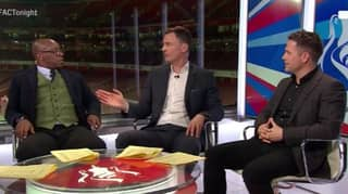 WATCH: Ian Wright Shuts Down Chris Sutton And Michael Owen