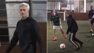 Jose Mourinho Playing 5-A-Side Says Everything About Him