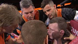 Boxing Fans Left Fuming After This Bizarre Moment In Jeff Horn's Corner