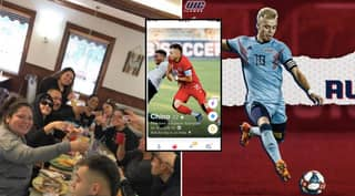 Football Signing Leaked After Female Fan Comes Across Him On Tinder