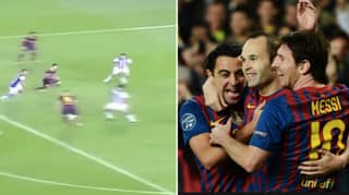 Footage Of Messi, Xavi And Andres Iniesta Shows How Unstoppable They Made Tiki-Taka