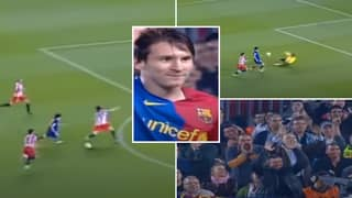 Lionel Messi Received A Standing Ovation For Forgotten Wonder Goal That Never Was Vs Atletico Madrid